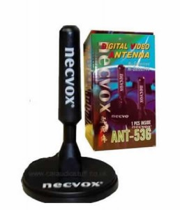 ANT-536 Single 96dB Magnetic Mount Car Digital Aerial Necvox NV536 / NV 536