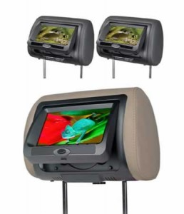 """LCD screen Universal Headrest, Built in DVD, AV input C-KO HUDVD-7005 7"""""""