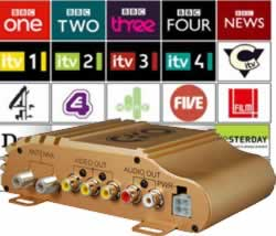 In Car Freeview TV Tuner