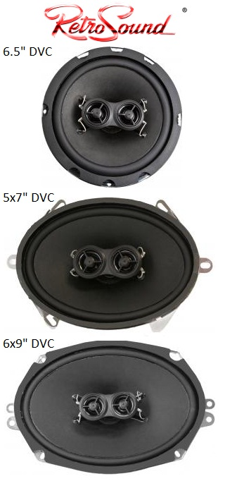 Speaker Chart 6.5, 5x7 and 6x9 Speakers