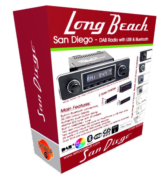 San Diego Classic car Radio