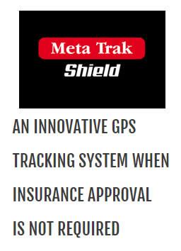 Meta Track Shield car tracker.