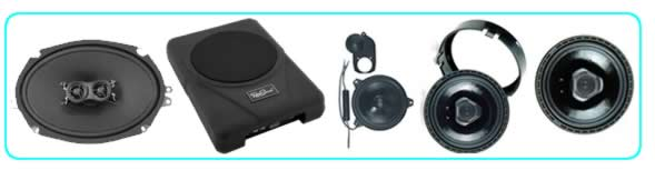 Classic Car speakers in dash or door panels