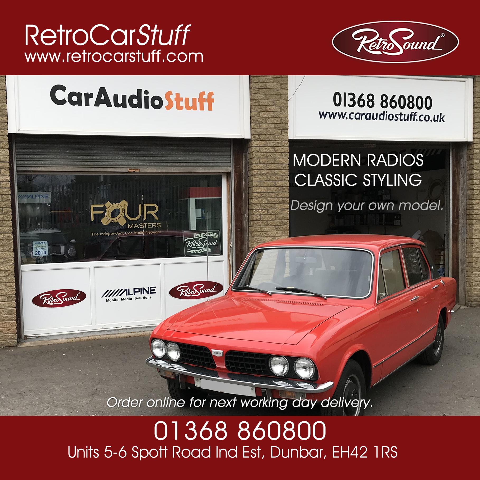 Classic Car Stereo UK full range.
