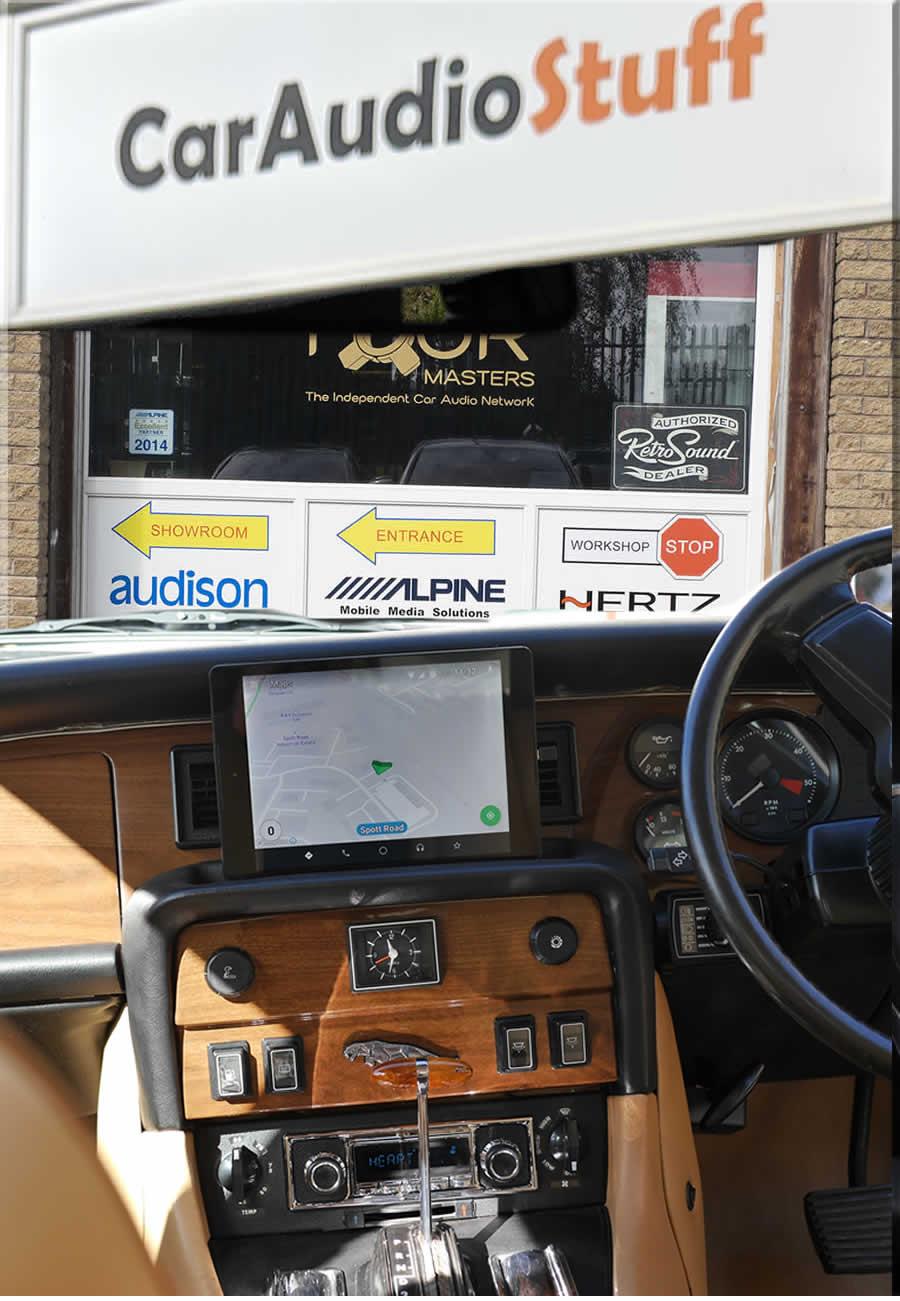 Jaguar XJ6 Dash layout