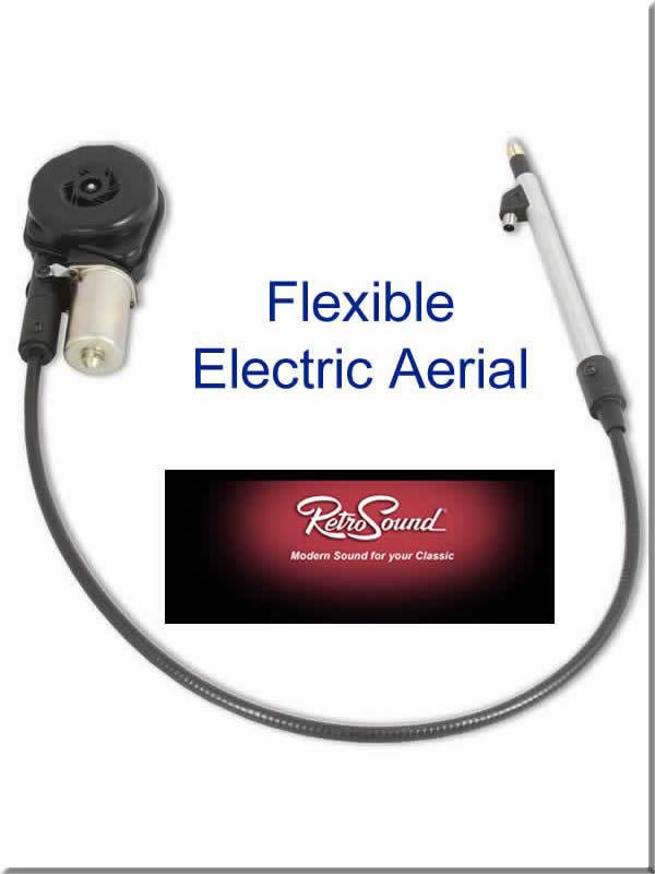 Image of Jaguar flexible electric aerial.