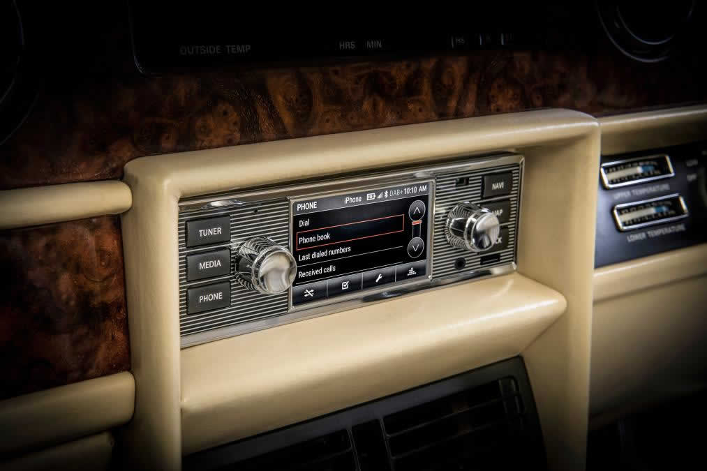 from Jaguar Land Rover releases £1,200 retro infotainment system for classics – pictures