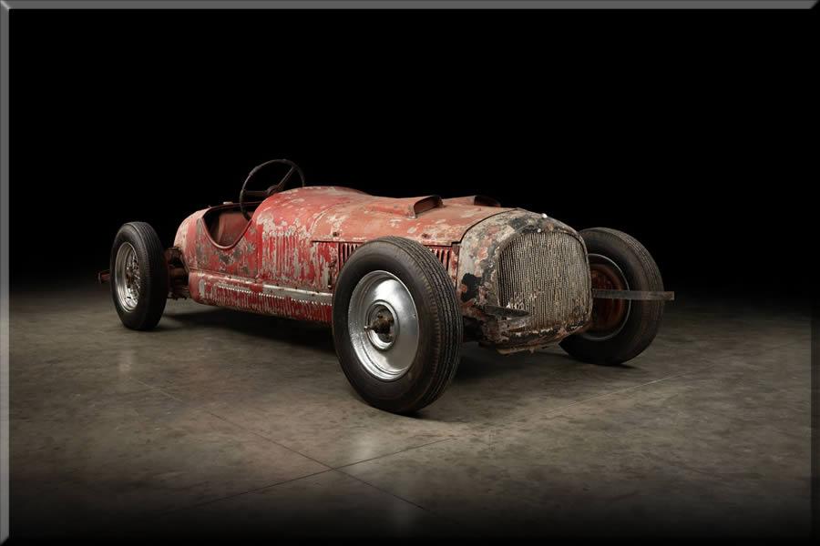 Rare Mussolini Owned Alfa Romeo Restoration